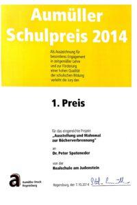 Aumüllerpreis 2014