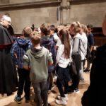 Die Klasse 5a begegnet unserem Bischof Rudolf Voderholzer