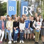 Die Klasse 8d zu Besuch beim Bayerischen Rundfunk in Nürnberg