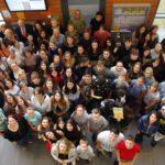 23 Judensteiner freuen sich über ihr Youngagement-Zertifikat