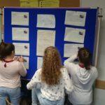 Die Klasse 5a gestaltet einen Fabelpfad