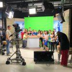 Die 5b im TV – Medienpädagogik live