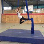 RSaJ erlebt … einen Schnupperkurs in der Sportart Vertikaltuch