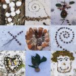 Kunstunterricht im Homeschooling: Landart geht immer!